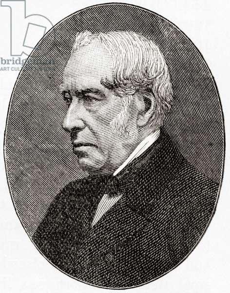 Sir William Fairbairn, 1st Baronet of Ardwick, 1789 – 1874.