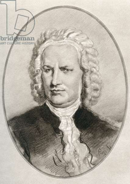 Johann Sebastian Bach, from Living Biographies of Great Composers