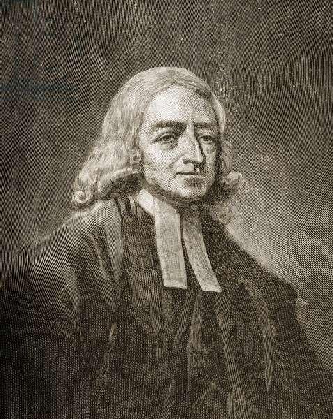 John Wesley (1703-91) (engraving)