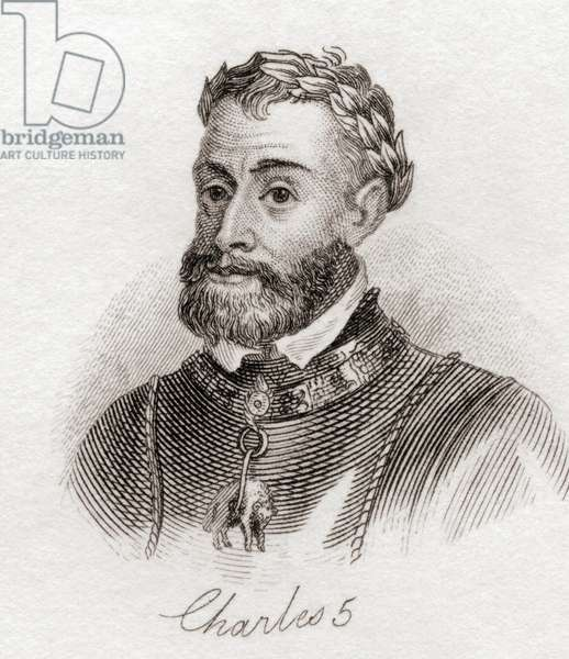 Charles V, from the book Crabbs Historical Dictionary pub. 1825