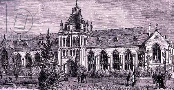 The National Museum, Melbourne, Australia, from 'Australian Pictures', pub. by The Religious Tract Society, 1886 (engraving)