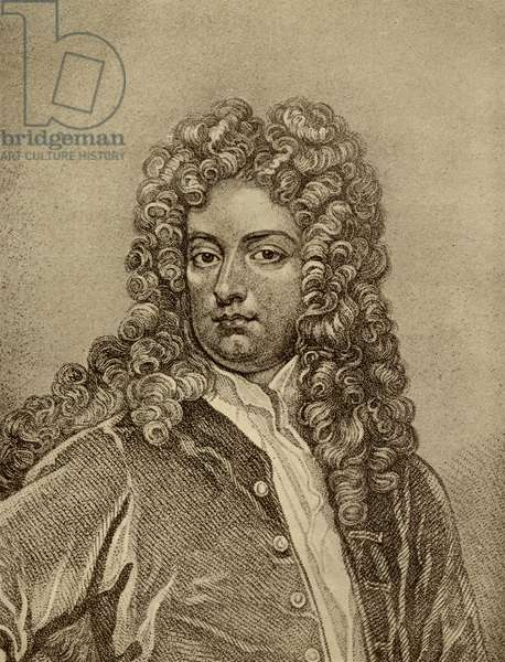 Joseph Addison (1672-1719) (engraving)