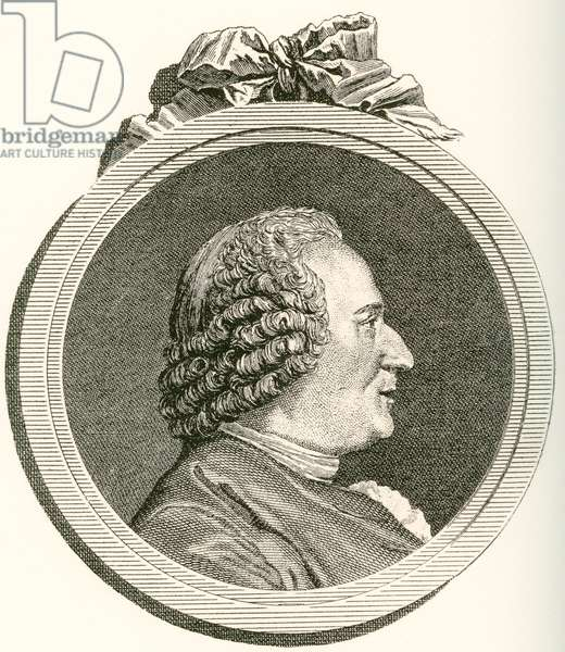 Denis Diderot,  1713 –1784.  French philosopher, art critic and writer.  From Les Heures Libres published 1908.