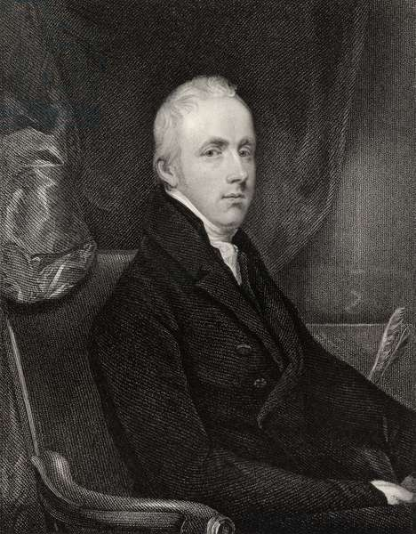 George Howard, 6th Earl of Carlisle, engraved by T.A. Dean (fl.1773-1840), from 'National Portrait Gallery, volume II', published in 1835 (litho)