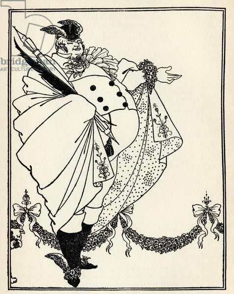 Design for the contents page of 'The Savoy', Volume I, 1896 (litho)