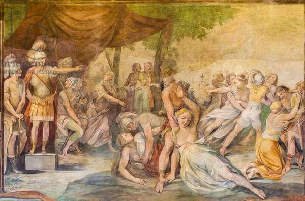 Rape of the Sabine Women, Rome, Italy