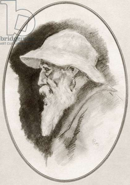Pierre-Auguste Renoir, from Living Biographies of Great Painters