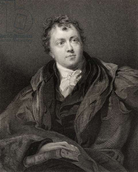 Sir James Mackintosh, engraved by John Cochran (fl.1821-65), from 'National Portrait Gallery, volume IV', published c.1835 (litho)
