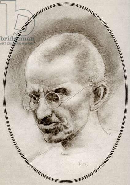 Mohandas Karamchand Gandhi, from Living Biographies of Religious Leaders