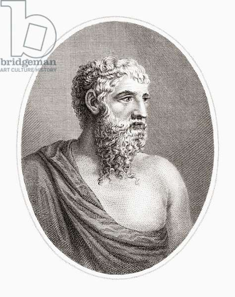 Aristophanes, ancient Greek comic playwright.