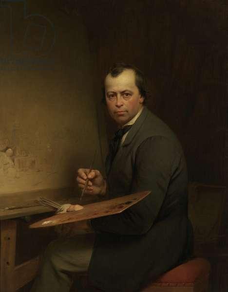 Self Portrait, 1854 (oil on canvas)