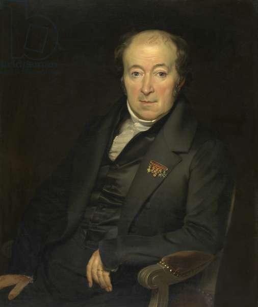 The painter Mattheus Ignatius van Bree (oil on canvas)