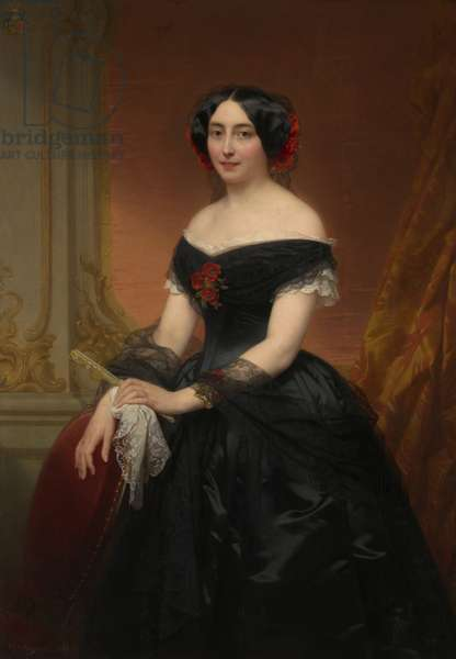 Lady Mols-de Brialmont, 1853 (oil on canvas)