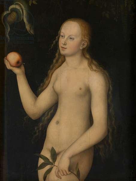 Eve (oil on panel)