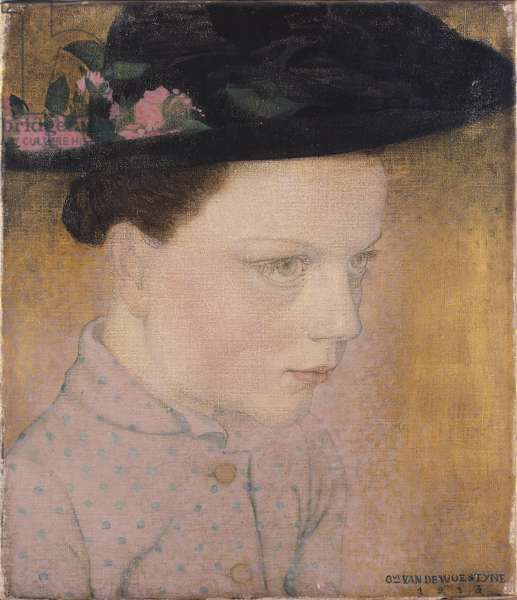 Country Girl, 1913 (oil on canvas)