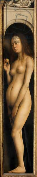 Eve, detail from the right wing of the Ghent Altarpiece, 1432 (oil on panel) (see 472324)