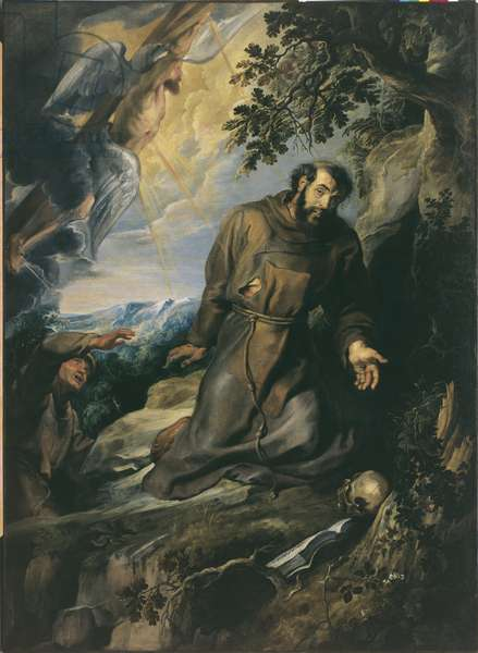 St. Francis Receiving the Stigmata, 1633 (oil on canvas)