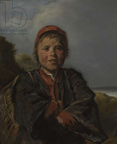 Fisherboy (oil on canvas)