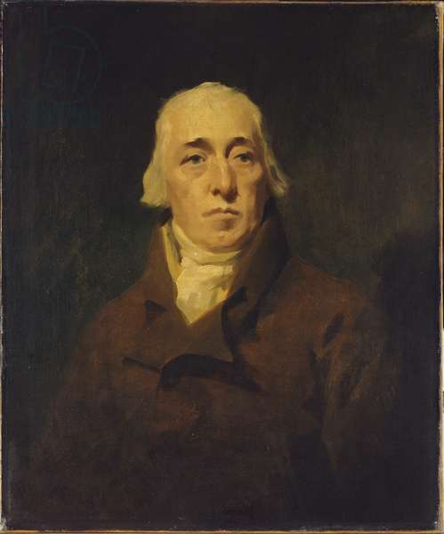Portrait of Alexander Edgar (oil on canvas)