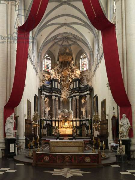 The High Altar, Church of St. Andrew, Antwerp (photo)