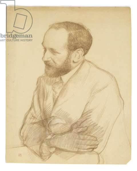 Portret of Henri Gheon (pastel on paper)