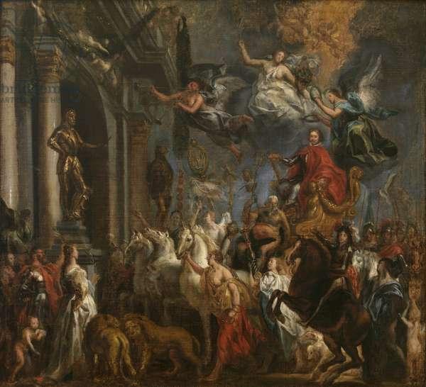 The Triumph of Frederik Hendrik, 1650-51 (oil on canvas)