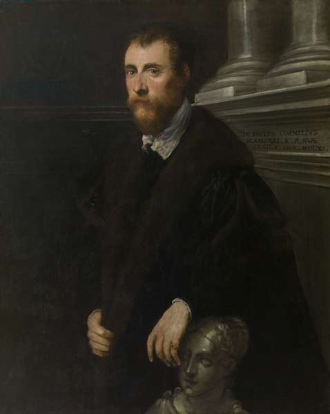 Portrait of the Humanist Giovanni Paolo Cornaro, 1561 (oil on canvas)