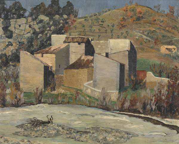 View of Ceret, 1923 (oil on canvas)