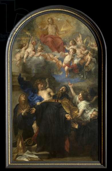 Saint Augustine in Ecstasy (oil on canvas)