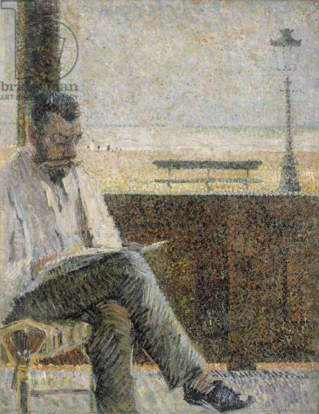 Portrait of Laurent in Blankenberge, c.1888 (oil on canvas)
