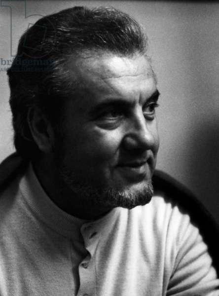 Nicolai Ghiaurov - portrait of the Bulgarian bass 13 September 1929 - 2 June 2004.
