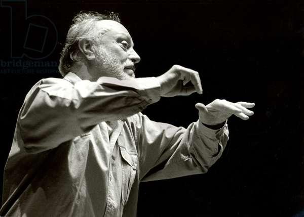 MASUR, Kurt - conducting German conductor, b. 1927