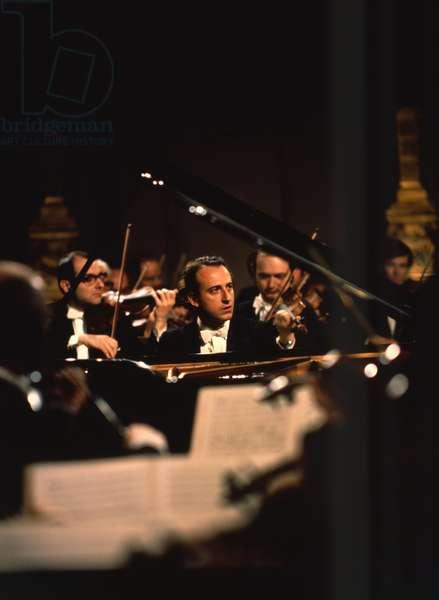 POLLINI, Maurizio - at the piano Italian Pianist, b. 1942