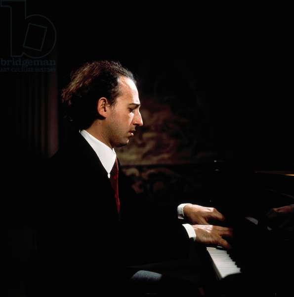 Maurizio Pollini at the