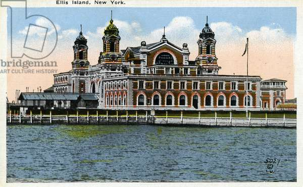 Ellis Island, Immigration Office