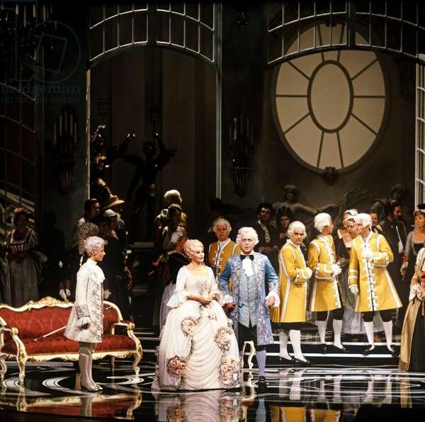 Der Rosenkavalier - scene