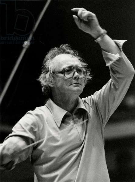 TENNSTEDT Klaus - conducting