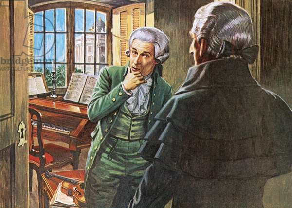 Mozart and the mysterious stranger