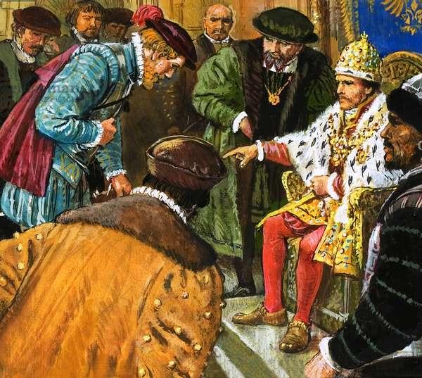 Richard Chancellor is taken to meet Tsar Ivan