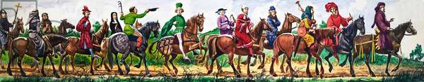 The Wonderful Story of Britain: The Poet Chaucer and the Pilgrims