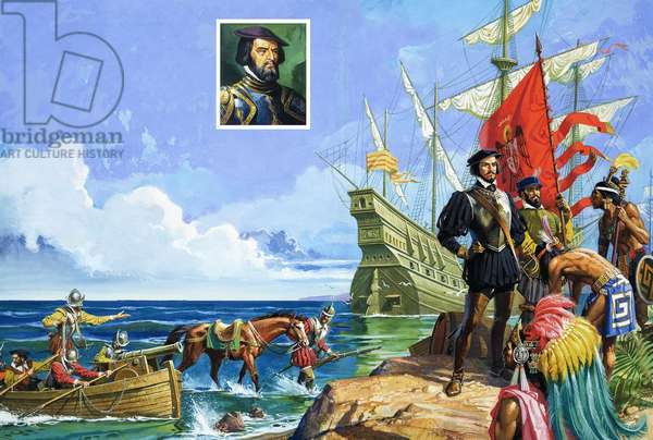 Into the Unknown: The Handful Who Conquered an Empire (Hernando Cortes)