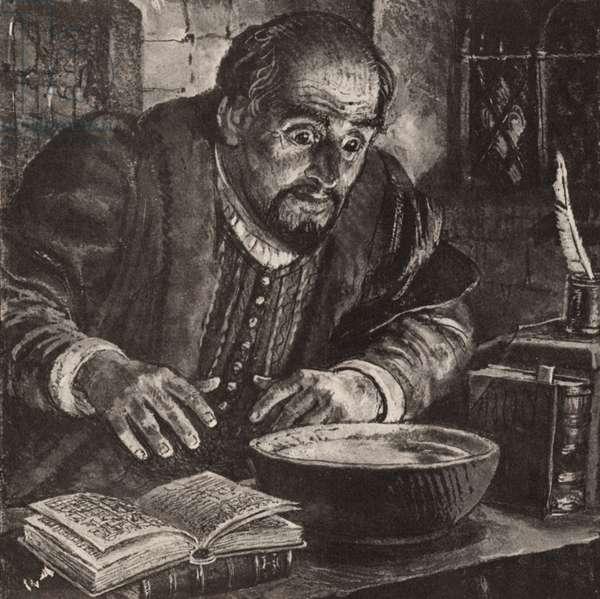 Nostradamus (litho)