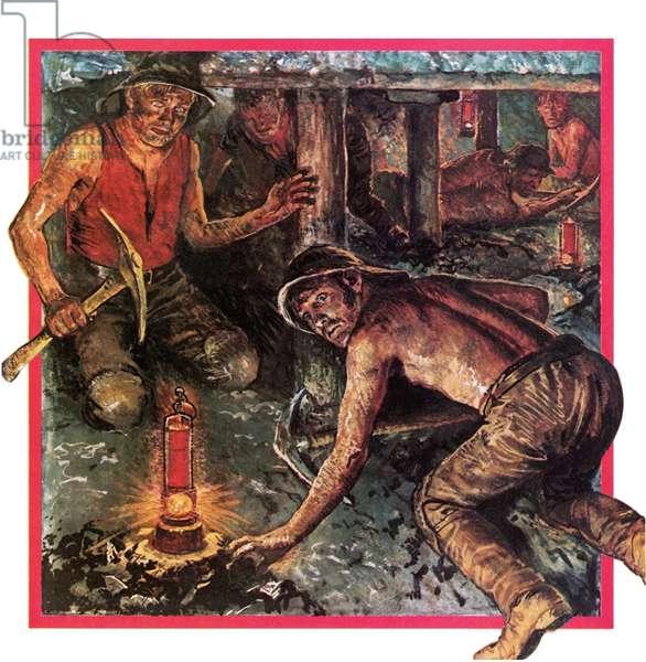 Humphrey Davy's miner's lamp
