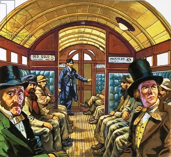 London Underground carriage