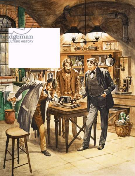 When They Were Young: Edison - The American Inventor