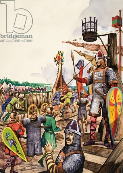 The Wonderful Story of Britain: The Saxon Warriors and Norman Invaders