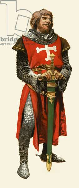 Unidentified crusader