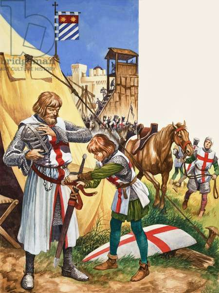 Once Upon a Time: Off to the Crusades