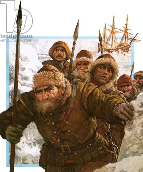 Prisoners of the Polar Ice