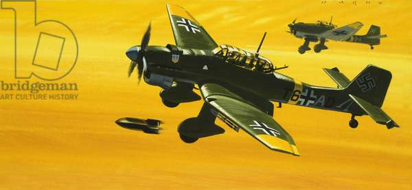 Men and Machines: Overboard Junkers Ju87 Stuka Dive Bomber!
